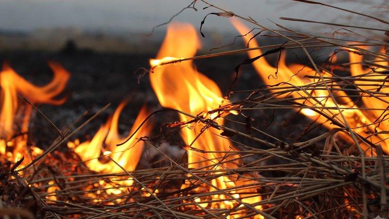 Рятувальники ліквідували загоряння в сіннику