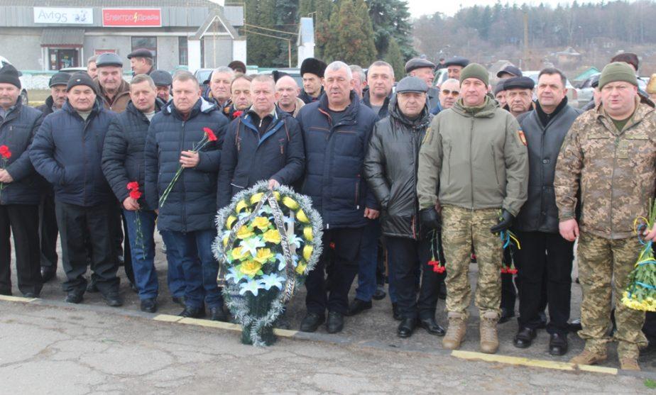 У Чуднові вшанували учасників бойових дій на території інших держав