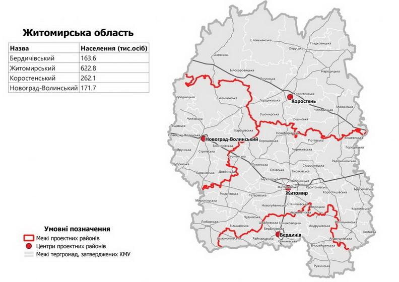 Відтепер Чуднів належатиме до Житомирського району: ВРУ ухвалила відповідну Постанову