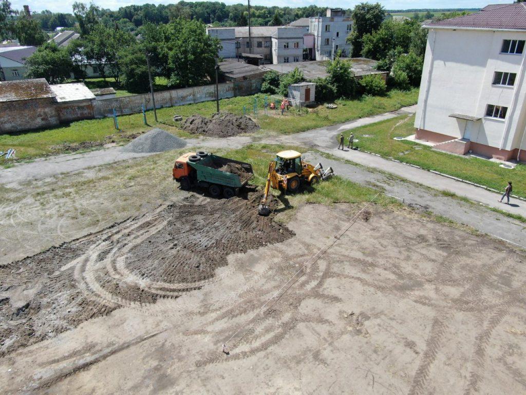 Чуднівський стадіон планують ввести в експлуатацію вже у жовтні цього року