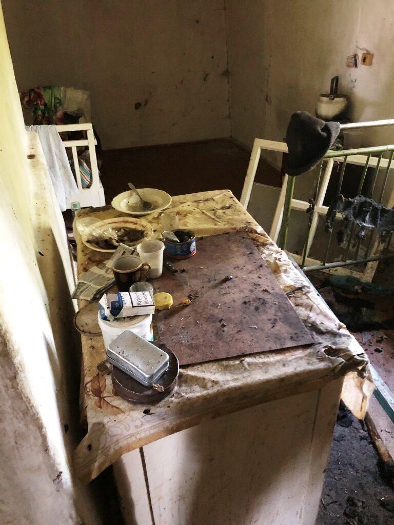 У Чуднівському районі через недопалок ледь не згорів приватний будинок