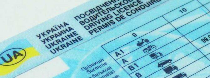 Відтепер перевірити всі відкриті категорії та дійсність посвідчення водія можна онлайн