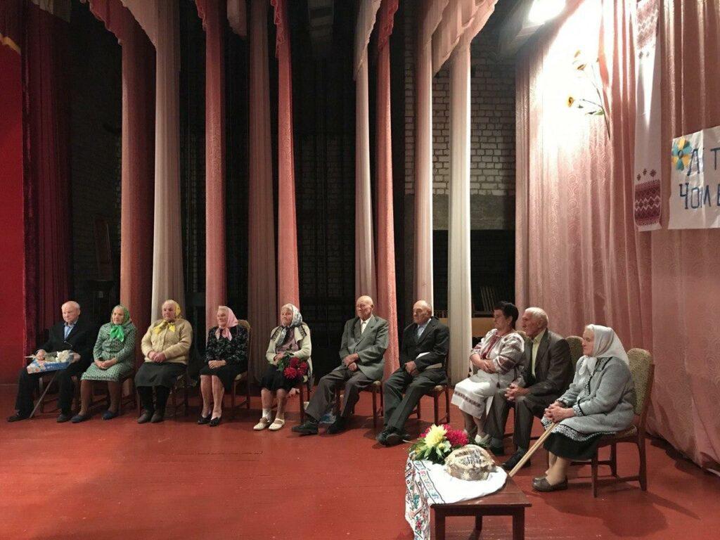 На Чуднівщині для ювілярів-довгожителів влаштували свято
