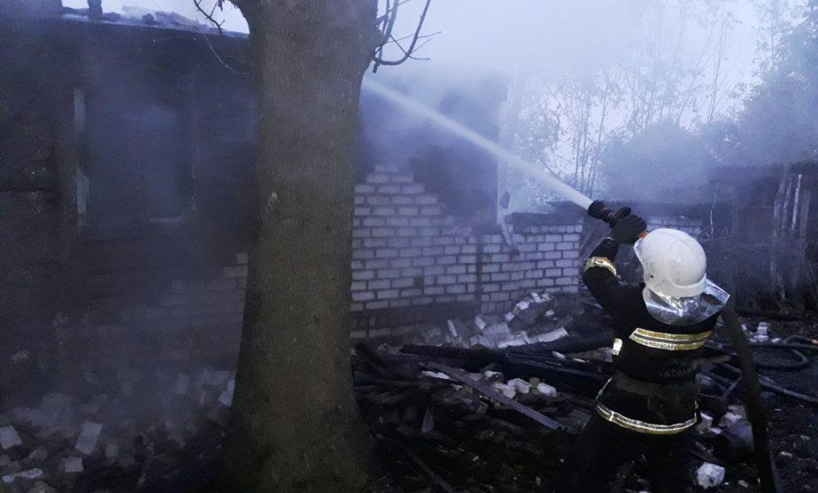 У Чуднівському районі під час пожежі загинула старенька – обійстя горіло не вперше