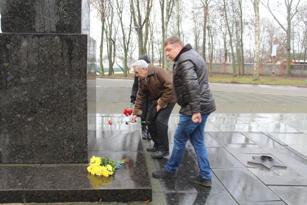У громаді відзначили 77-му річницю визволення Чуднівщини від нацистських загарбників