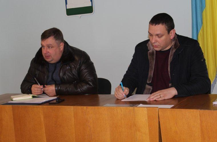 Чуднівський міський голова провів робочу нараду за участю старост громади