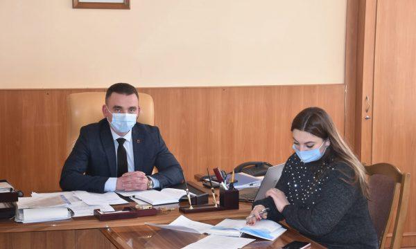 Новий голова Житомирської РДА провів першу робочу нараду