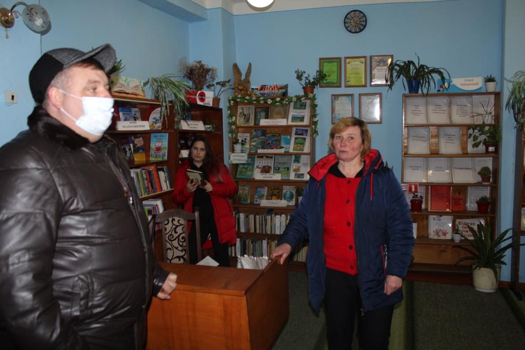 Міський голова Чуднова перевірив заклади освіти, культури та охорони здоров'я в Дубищенському старостинському округу