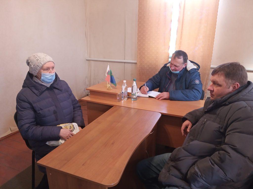 Чуднівський міський голова провів виїзний прийом громадян у Карвинівському старостинському окрузі