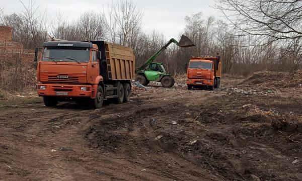 На Чуднівщині продовжують вивозити «скандальне» сміття