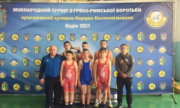 Борці Чуднівської ДЮСШ взяли участь у Міжнародному турнірі з греко-римської боротьби