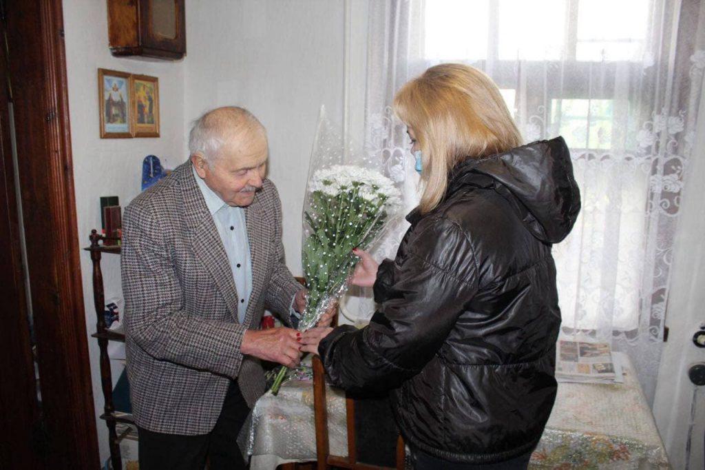 Ігор Ходак привітав ветеранів Чуднівщини з Днем Перемоги