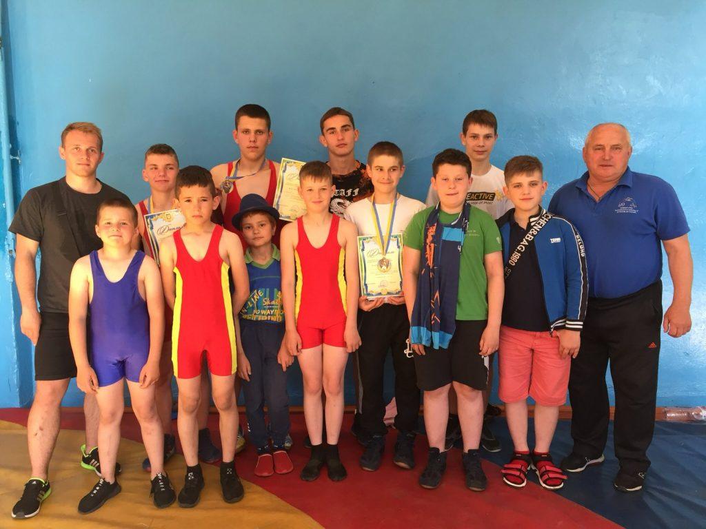 Спортсмени з Чуднівщини виступили на міжобласному турнірі з греко-римської боротьби