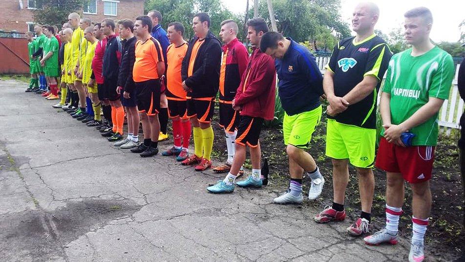 На Чуднівщині відбувся турнір з міні-футболу пам'яті воїна-афганця Миколи Бричника