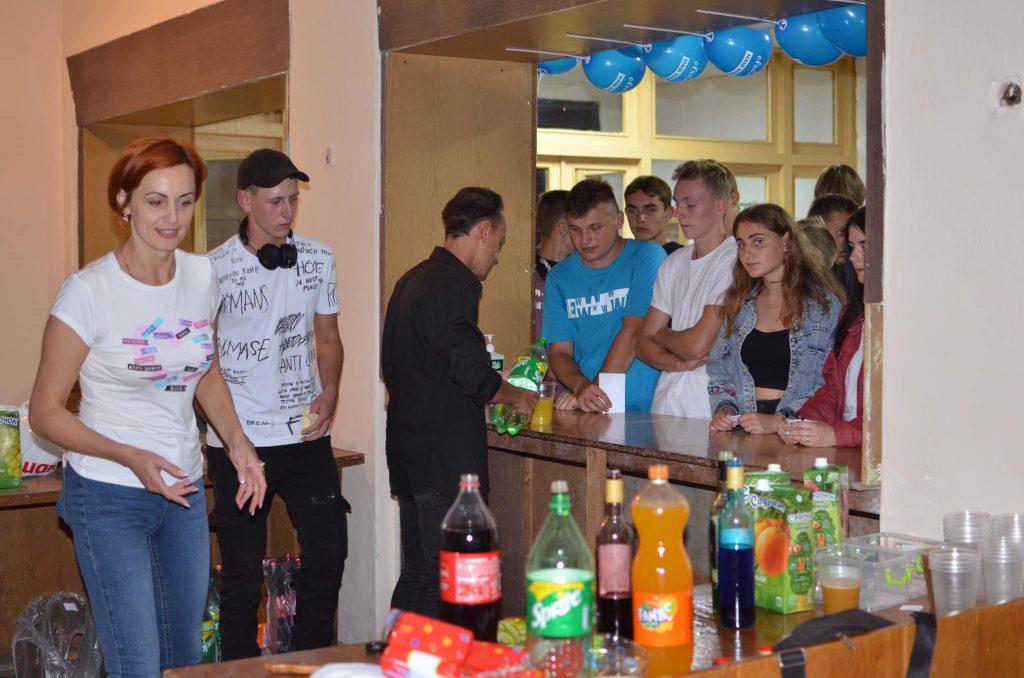 У Чуднові святкування Дня Незалежності почалося з молодіжної вечірки